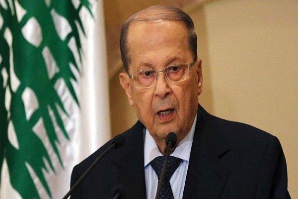 سخنرانی میشل عون در سومین سالروز تصدی ریاست جمهوری لبنان