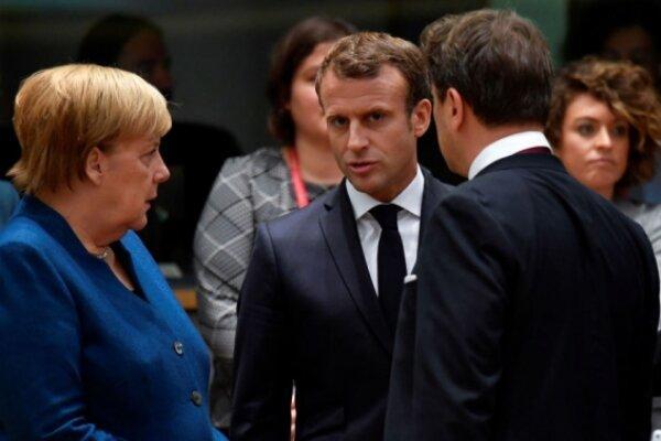سفر ماکرون به آلمان در سایه اختلافات با مرکل