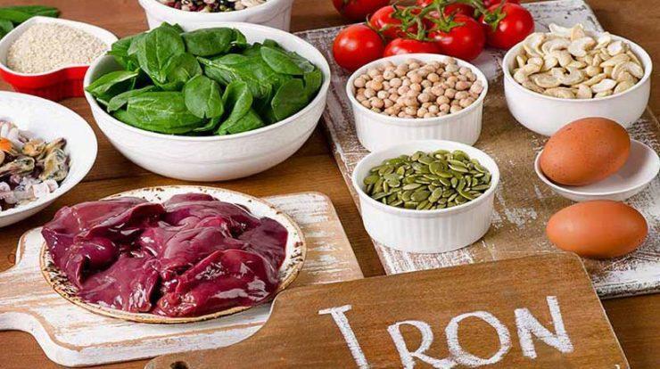 لیست مواد غذایی مخصوص افراد کم خون