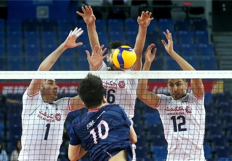 والیبال انتخابی المپیک، ایران 2 - کره جنوبی یک