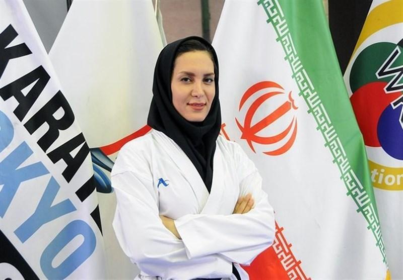 سمانه خوشقدم سرمربی تیم ملی کاراته بانوان شد
