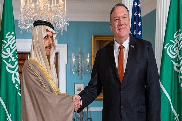پمپئو ایران را یکی ازمحورهای دیدارش با وزیر خارجه سعودی گفت