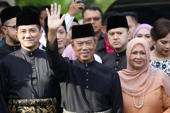 محی الدین یاسین به عنوان نخست وزیر مالزی سوگند خورد