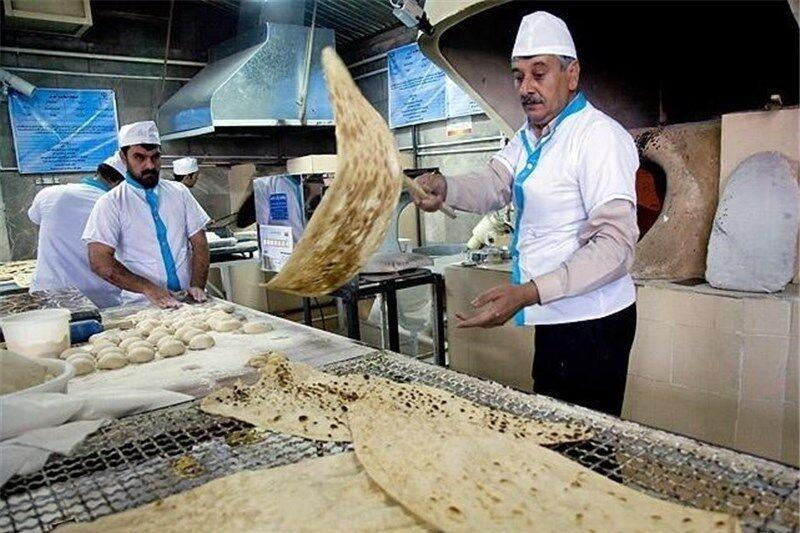 اصلاحیه وزن نان سنگک در اسدآباد