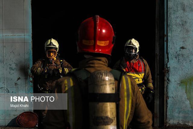 عملیات بدون مصدوم برای آتش نشانی زنجان در چهارشنبه سوری