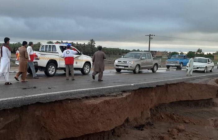 جزییات خسارات سیلاب به راه های جنوب کرمان