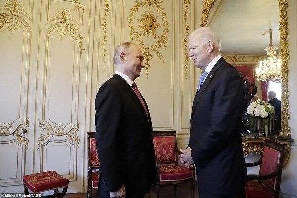 دُور اول مذاکرات پوتین و بایدن خاتمه یافت