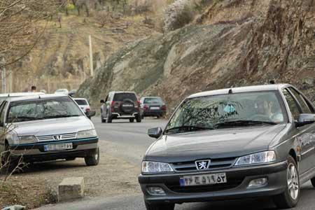 تردد در محورهای برون شهری 1.2 درصد کاهش یافت