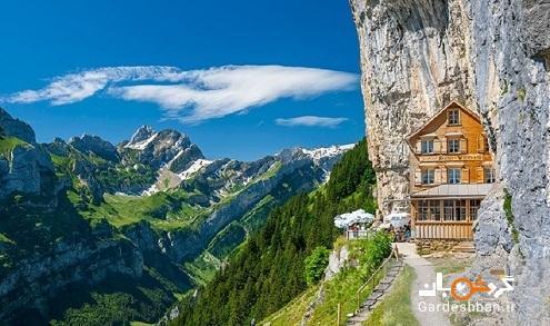 مهمان خانه 170 ساله در دل کوه های زیبای سوئیس، تصاویر
